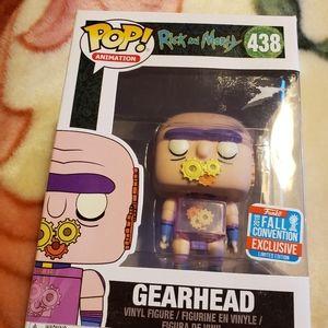 Funko Pop rick and Morty Gearhead #438